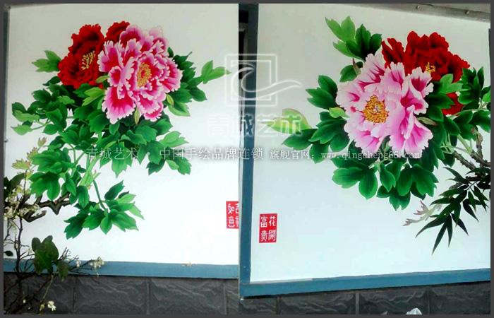 四月墙绘案例集合--青城艺术